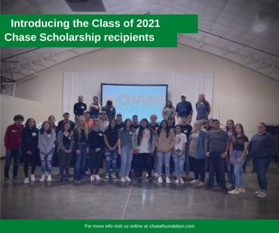 Class of 2021 Recipients